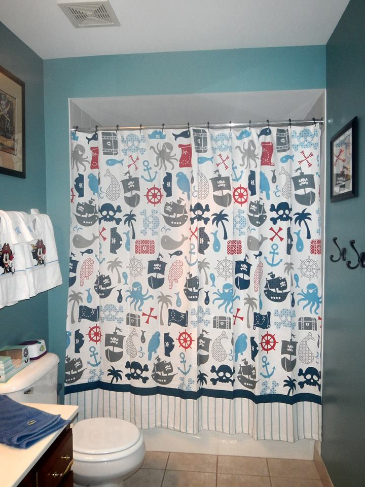 Disney Inspired Rooms A Bathroom for Three Boys Disney with Children. Disney Bathroom