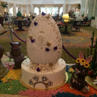 Easter Egg Beauty at Disney's Grand Floridian